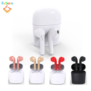 Original Quality Mini HBQ I7S Pair Bluetooth 4.2 Earphone TWS with Charger Bucket