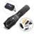 G700 flashlight XML T6 LED 2000Lm xm-l T6 adjustable led Torches Zoomable LED Flashlight Lamp+1x18650 Battery car charge holster