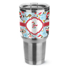Christmas theme custom kids double wall vacuum insulated stainless steel sport water bottle