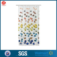 Mildew Resistant PEVA Shower Curtain Liner, 72x72-Inch, Clear