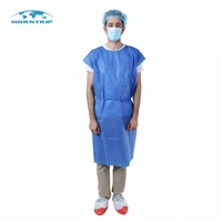 Theatre Disposable Products Laboratory Hospital Patient Gowns
