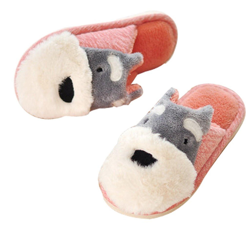 Cattior Animal Warm Cute Kids Slippers Indoor Childrens Slippers Toddler Little Kid