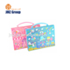 PP Document Bag Expanding File Folders with Sewing and cute love Printing for office & school stationery