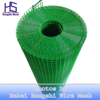"1/2"" 12mm light green PVC welded wire mesh India market"