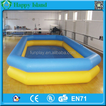 2016 kids pool games plastic large inflatable swimming for Large size inflatable swimming pool