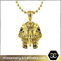 2016 Gold Plated Pharaoh Necklace Pendant By Hip Hop Jewelry Provider
