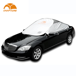 Outdoor Uv Protection Weather Resistant Outdoor Vehicle Cover Durable Heat Reflective Sun Proof Car Half Cover
