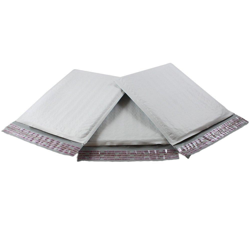 Kraft Bubble Mailers Padded Shipping Envelopes Self Seal Medium Size 5 Pack HGP #1 7.25 x 12