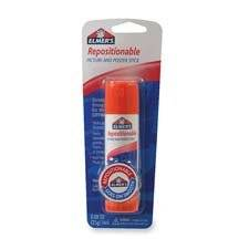 Elmer's Products, Inc : Repositionable Glue Stick, Washable, Nontoxic, Clear -:- Sold as 2 Packs of - 1 - / - Total of 2 Each