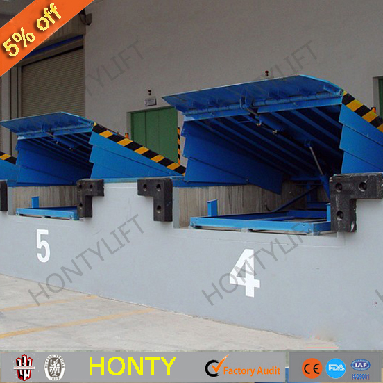 China supplier used lifting dock ramp container unloading equipment