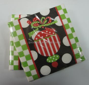 Carino Piccolo Piegare Tovaglioli Di Natale Wholesale Tovaglioli Di Carta Di Natale Buy Ingrosso Tovaglioli Di Carta Di Natale Tovagliolo Di Carta