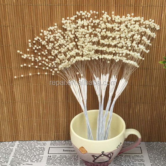 Spurting Pearl Sticks Decorate Wedding Bouquet Cakes Accessory wedding accessory