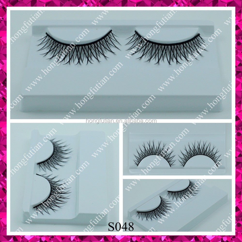 Long and thick wholesale fake synthetic lashes for women