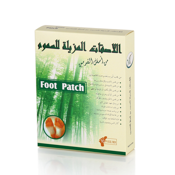 The lowest price hot selling 100% natural herbal relax detox foot patch