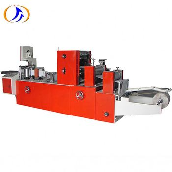 Napkin Paper Equipment Tissue Paper Napkin Machinery