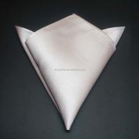 100% white silk pocket squares