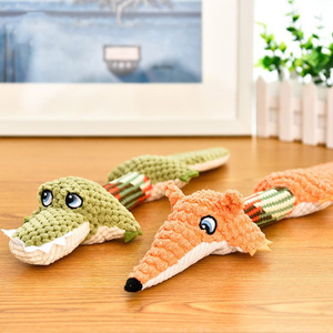 Wholesale Luxury Durable Interactive Squeaky Plush Dog Toy