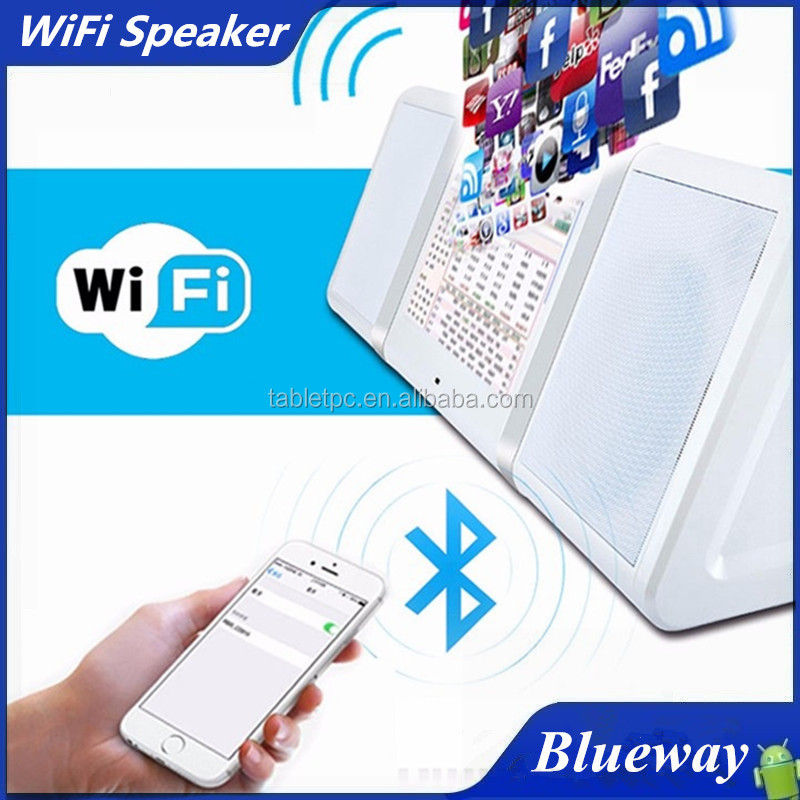 Hot Selling 2016 Bluetoooth 4.0 Speaker Mini Small Size Portable WiFi Wireless Speaker, 10.1inch Tablet Speaker