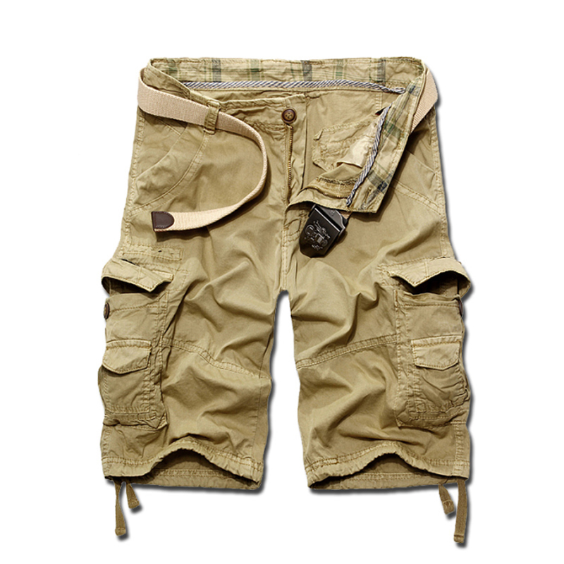 c90cb7368e Buy New 2015 Summer Men's Casual Camouflage Loose Cargo Shorts Men Large  Size Multi-pocket Military Short Pants Overalls 4 Colors in Cheap Price on  ...