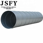 Galvanized steel Round Spiral Duct Air Vent For HVAC System
