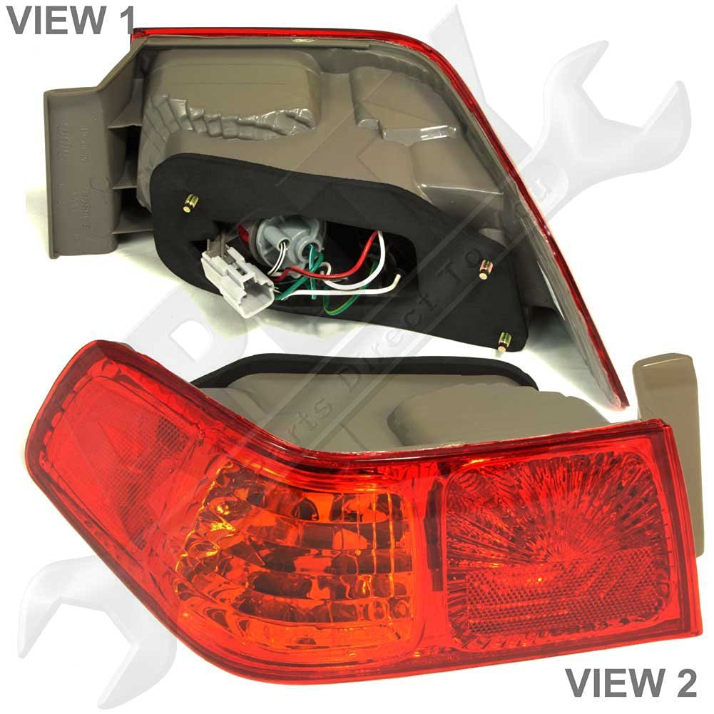 Cheap Aftermarket Atv Lights Find Deals On 2000 Toyota Camry Wiring Harness Get Quotations Rear Taillight Lamp Fits 2001 Usa Built With Vendor Trident