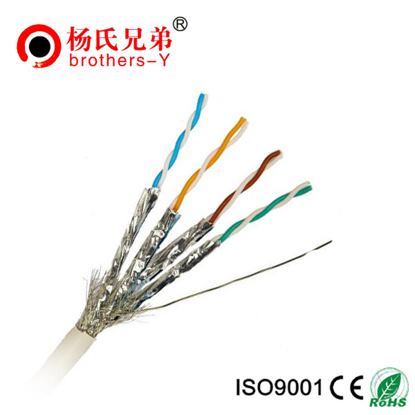 Pass fluke test utp ftp sftp fftp cat6 cables 24awg 305m pvc lszh cat7 network cable