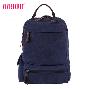 Bargain sale wholesale canvas back pack travel bag backbags school bag in the backpack made in China