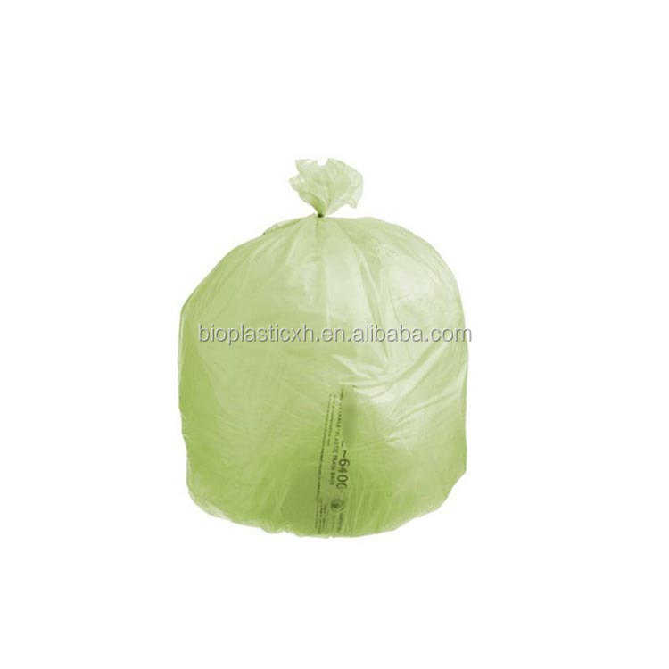 wholesale en13432 certified starch made eco friendly degradable plastic bag