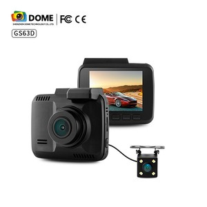Dash Cam 4K with Rear Dual Lens Car Camera Recorder 150 Degree Wide Angel With WIFI GPS
