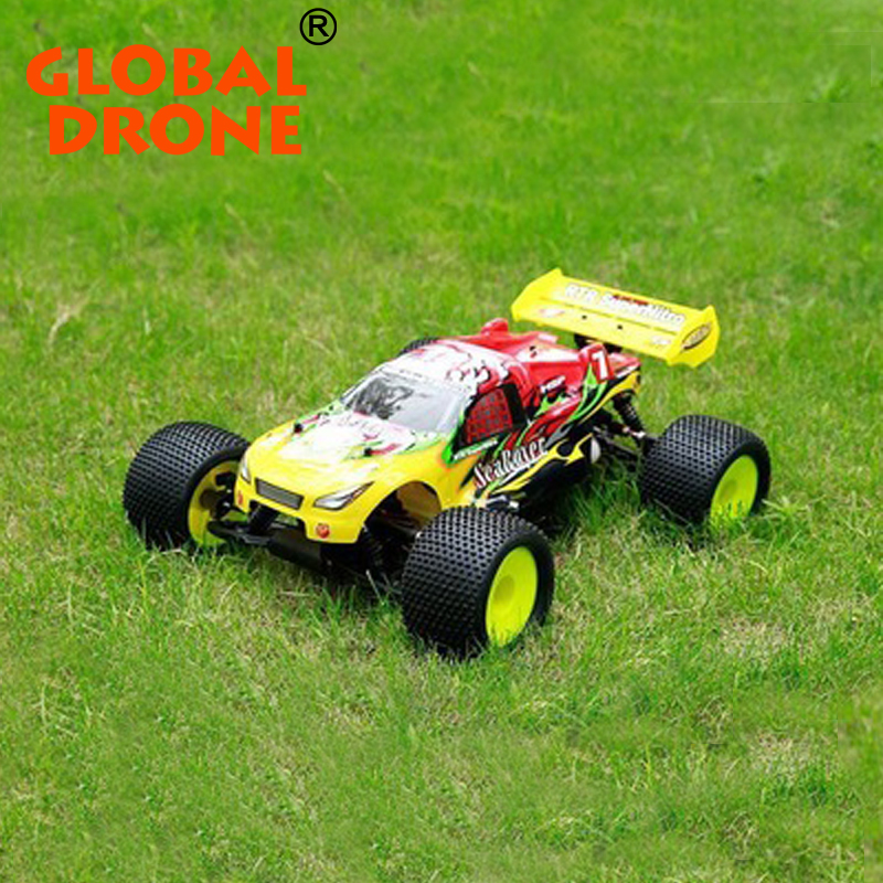 53CM Big Scale Rc Car Gas Powered With Petrol Engine 1/8 English Color Screen 2.4G 3CH Racing Long Range High Speed Gasoline