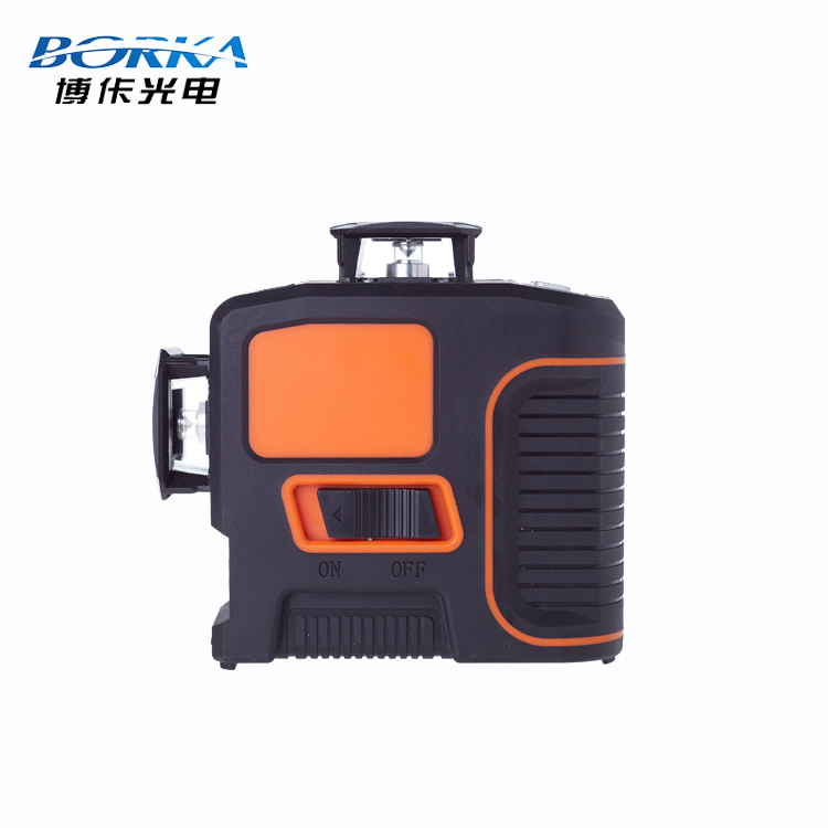 Borka automatic wall mount self leveling mulit line laser 360 cross line green beam 3D laser level for tiling construction tools