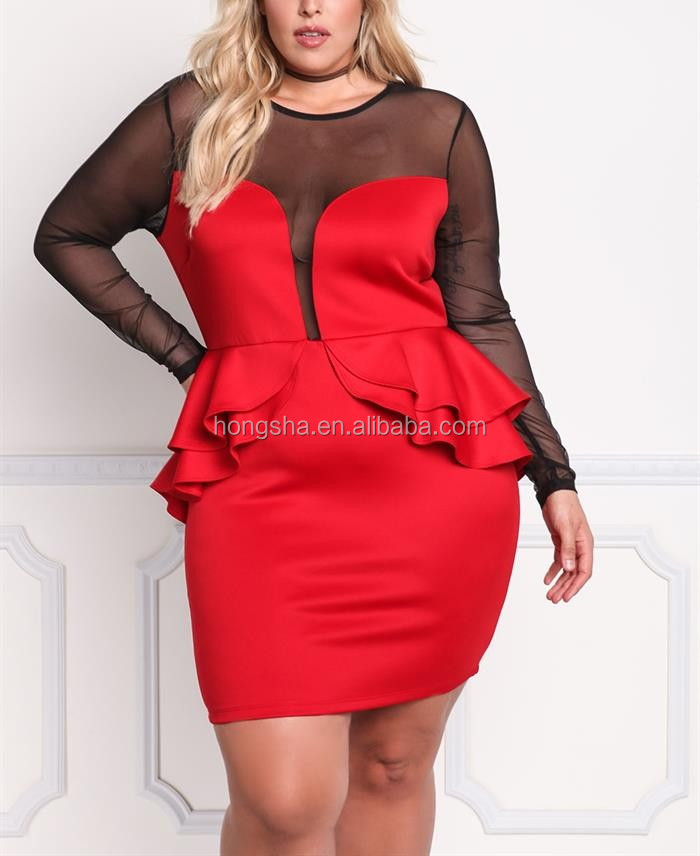 Chic And Edgy Plus Size Lace Up Corset Tee Shirt Dress For Big Fat Ass Women