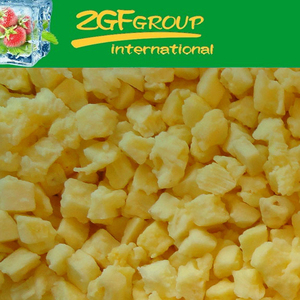 IQF Frozen Fresh fresh organic pineapple in good quality in bulk