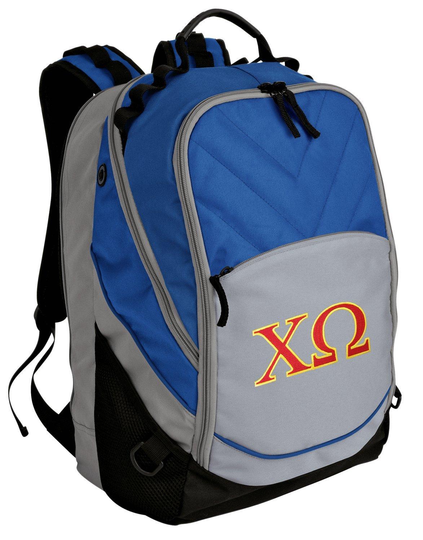 Chi Omega Backpack Chi O Bag w/ LAPTOP SECTION