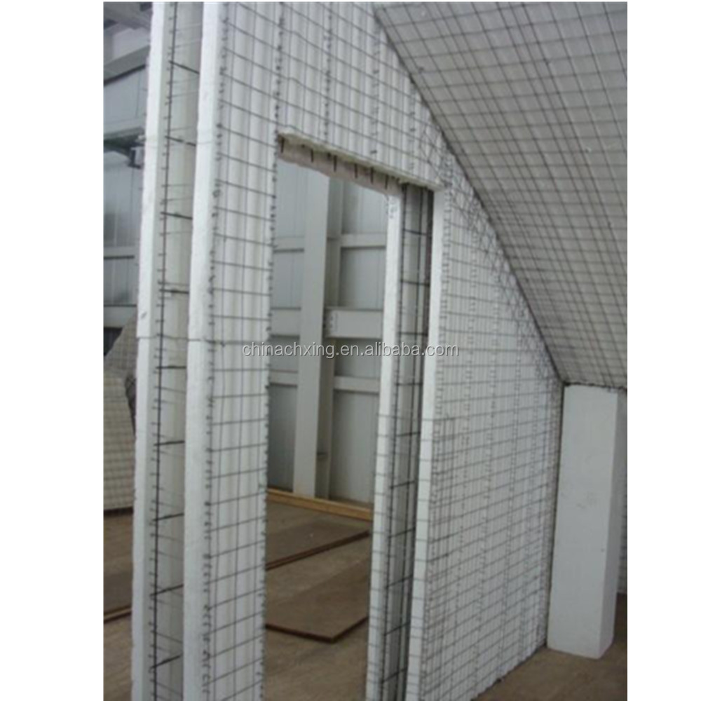 High density construction materials 3d EPS wall panels for house building
