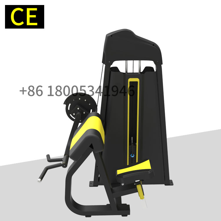 Factory directly supply Biceps machine commercial gym machine 45 Degree Biceps Curl for body building