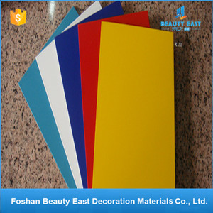 Attractive Bright Color Composite Panel ACP Aluminium Bond