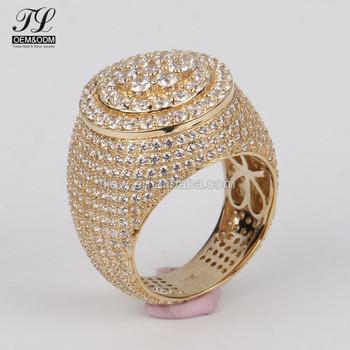 dbfc8780107c Grupo americano diamante amarillo anillos de oro para modelos de moda  anillos de los hombres Mujer