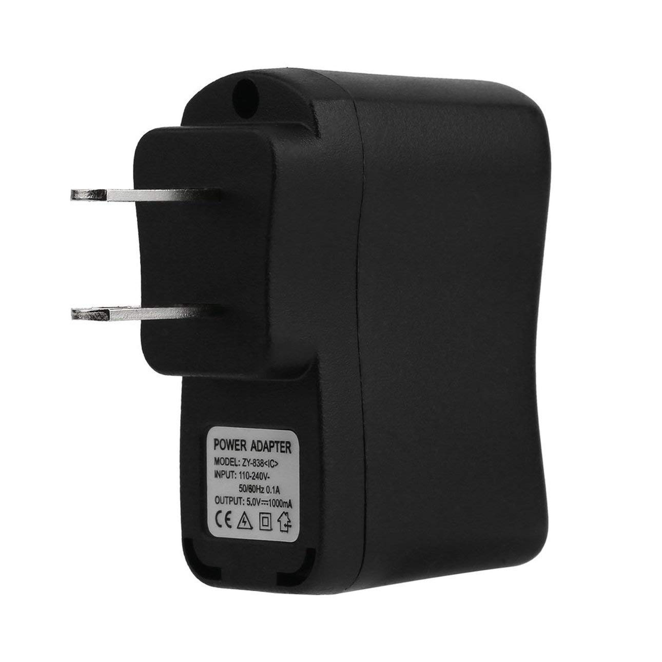 USB Wall Charger, ChargerAdapters 1Pc USB Wall Adapter MP3 Charger AC DC Power Supply EU/US Plug Suitable for DVS, mp3, Cellphone, PDAs
