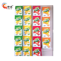 10g add 2Liters water all fruit flavors instant juice powder flavored drink powder