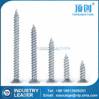 Phillips countersunk head self tapping screw zinc plated made in china alibaba