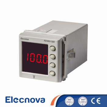 Elecnova PZ195U-DK1 48*48mm 1 phase LED rs232 digital DC voltage meter
