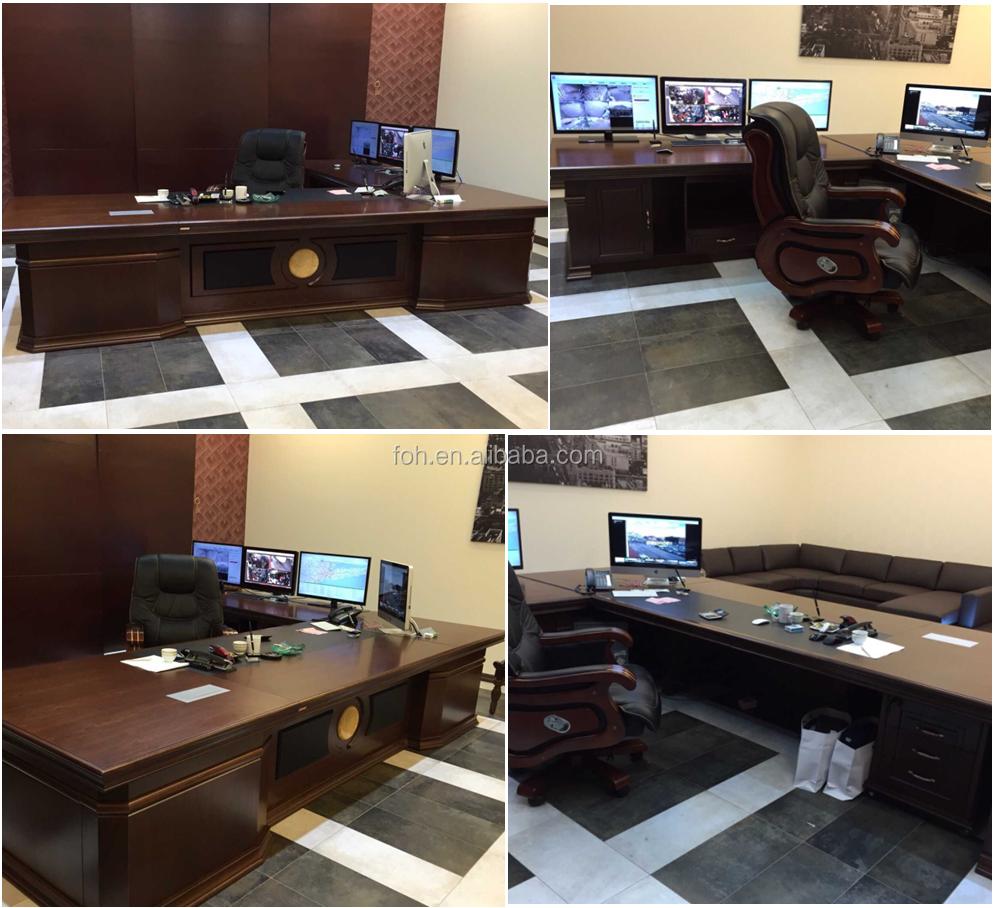 China Moderne Bürogestaltung Layout/ausführender Nussbaum ...