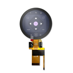 small ips lcd 3 inch round lcd display module with capacitive touch screen