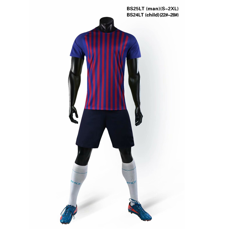 Football club wear best quality thai quality football soccer jersey, Purple