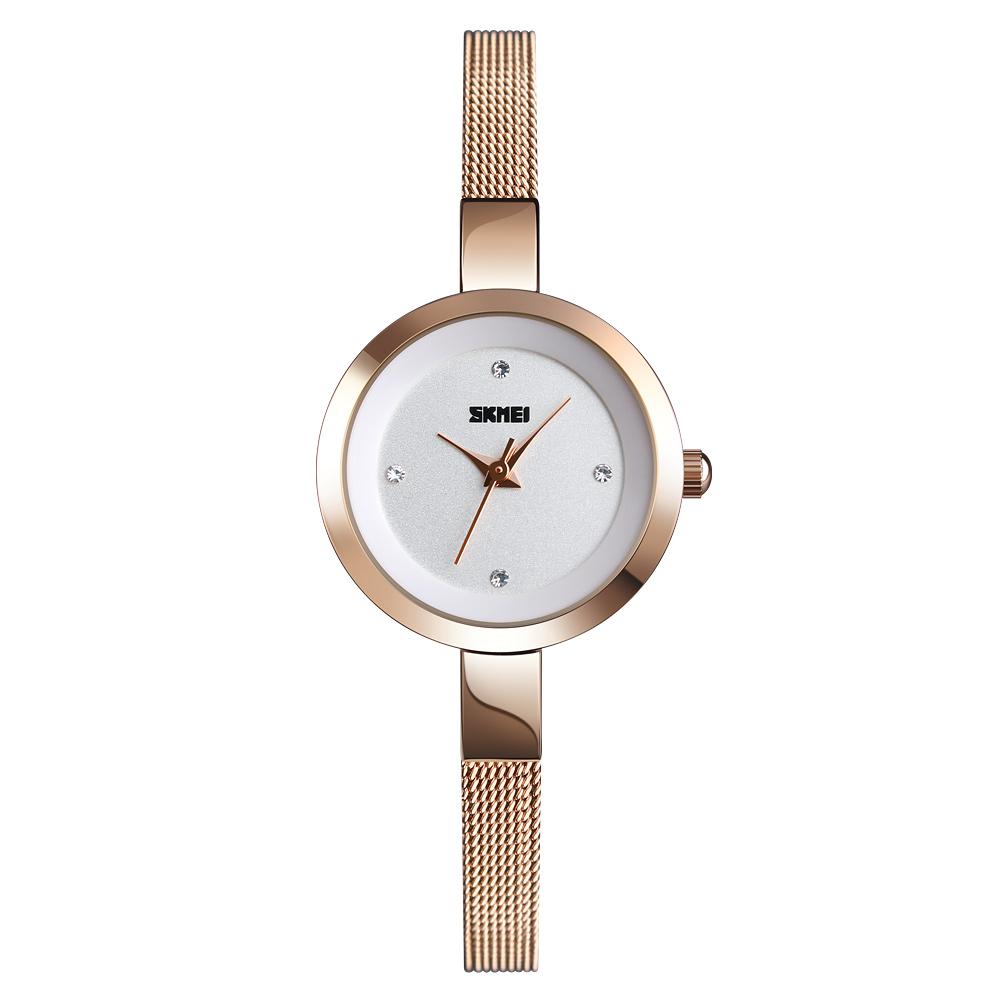 c4a9c3946244 Azul del reloj SKMEI 1390 la simple elegante de lujo señoras de la marca de  relojes