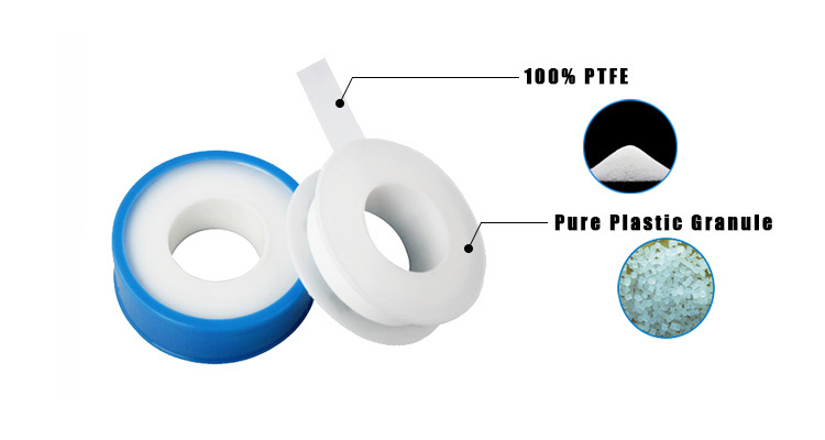 12mm blue ptfe thread seal tape for gas pipe used