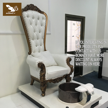 Bomacy-Most popular used salon chairs sales cheap wood carved throne chairs luxury back chair & Bomacy-most Popular Used Salon Chairs Sales Cheap Wood Carved Throne ...