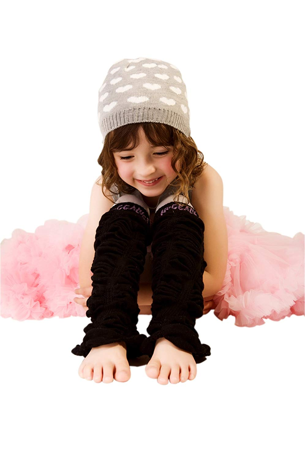 Huggalugs Girls Ombre Legruffle Legwarmers in 2 Color Choices