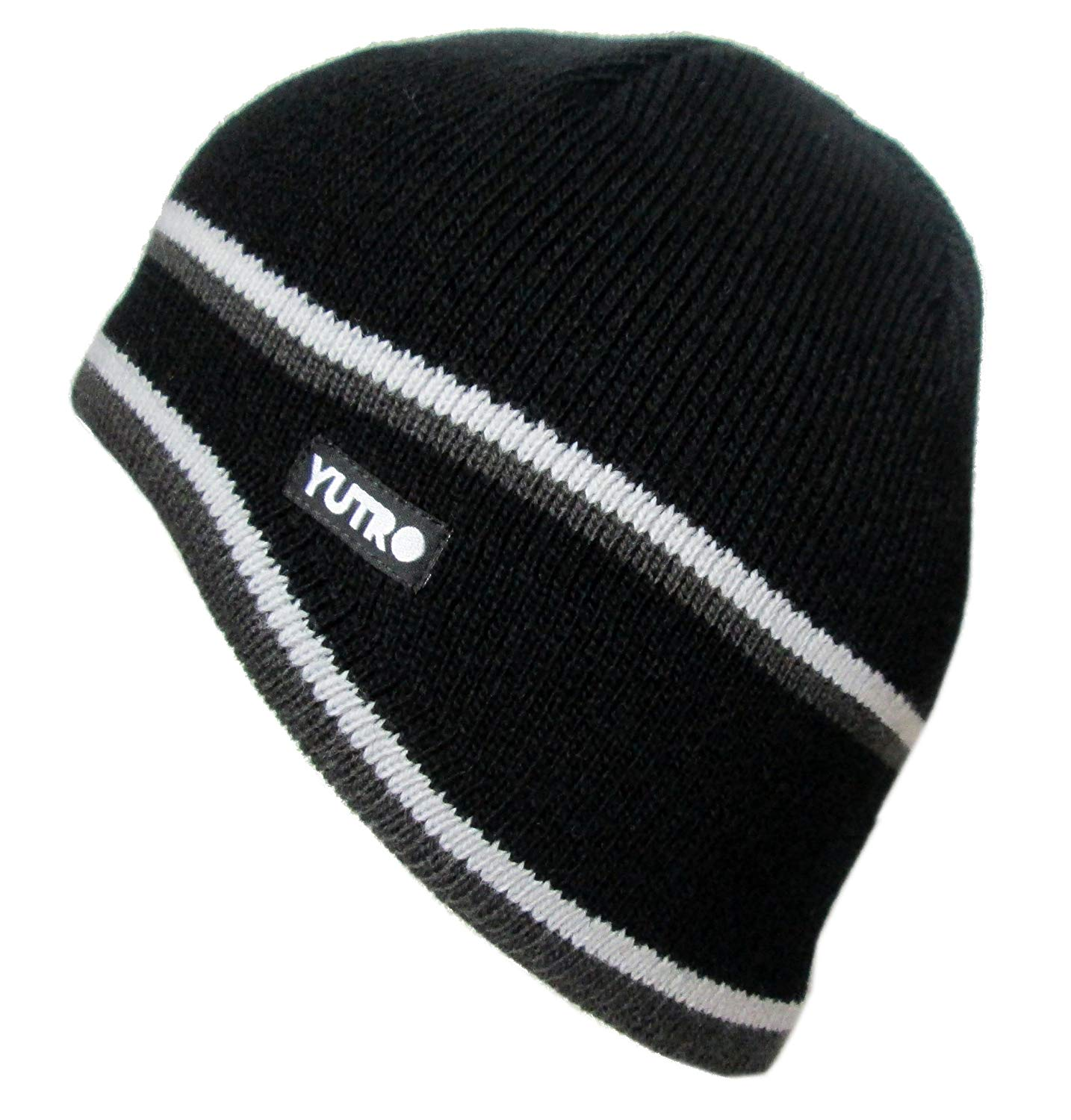 4331f253c8f Get Quotations · YUTRO Fashion Thinsulate Wool Ski Winter Beanie Hat With  Fleece Lining
